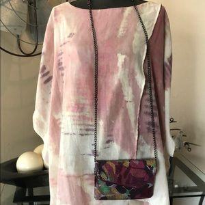 NWOT Boho Tie Dye - Shawl - Wrap - Poncho - Tunic